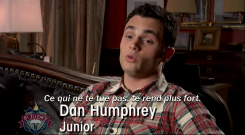 Extrait de «Gossip Girl : Confidences» - Dan Humphrey